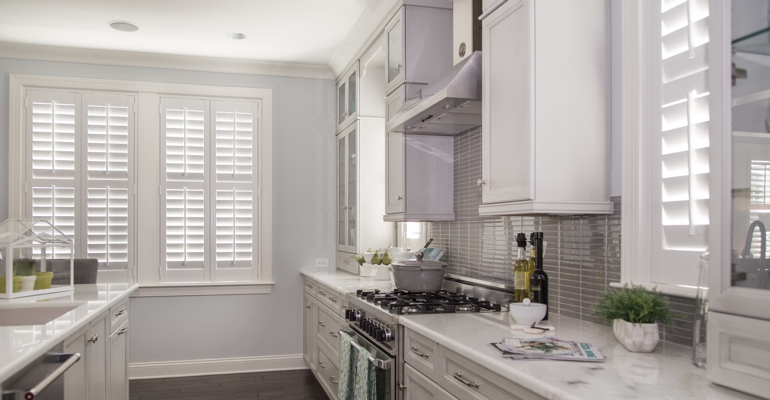 Orlando kitchen white shutters